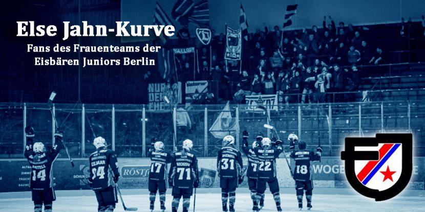 Else Jahn-Kurve: Heraus zum Fraueneishockey!