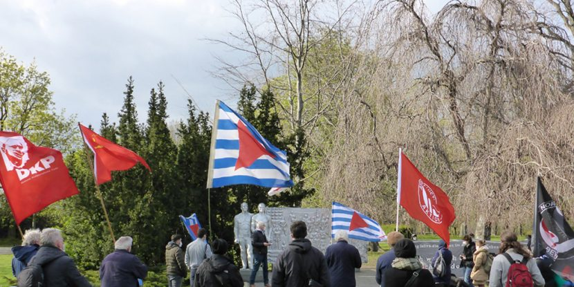 Weißensee: Gedenken anlässlich der Befreiung Nordostberlins